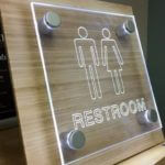 acrylic office stand-off signs