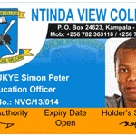 identity card sample