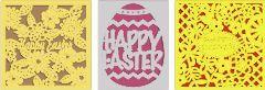 laser-cut Easter cards