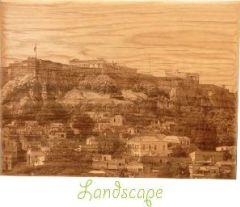 laser engraved photo