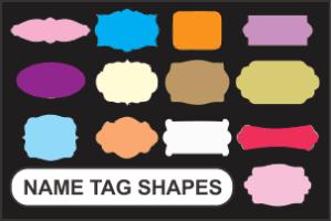 Name Tag Shape